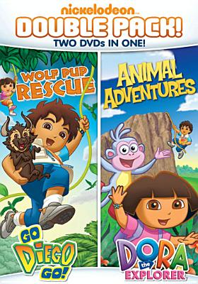 DORA THE EXPLORER:DIEGO WOLF PUP RESC BY DORA THE EXPLORER (DVD)